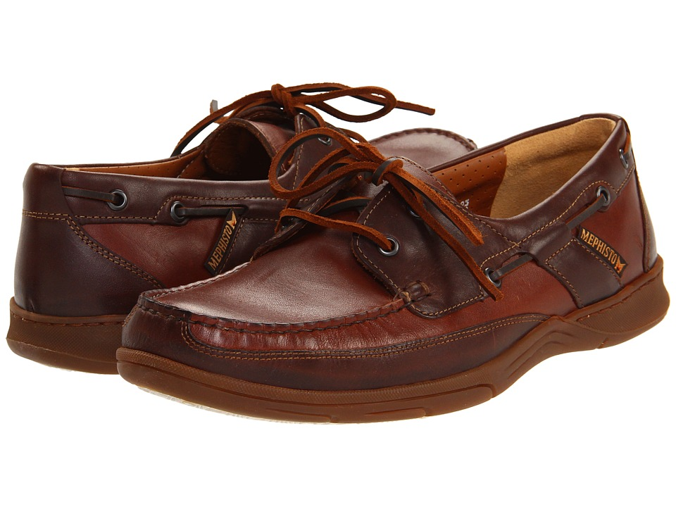 Mephisto - Felix (Chestnut/Dark Brown Smooth) Men's Lace up casual Shoes
