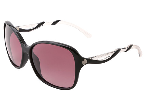 Spy Optic - Fiona (Black/Clear - Merlot Fade Lens) Sport Sunglasses