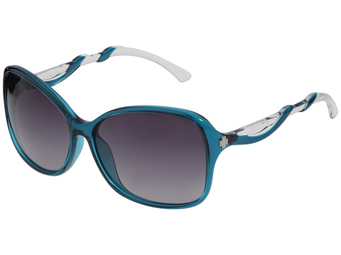 Spy Optic - Fiona (Translucent Teal/Clear - Black Fade Lens) Sport Sunglasses