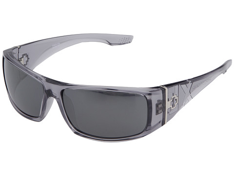 Spy Optic - Cooper XL (Clear Smoke - Grey/Silver Mirror Lens) Sport Sunglasses
