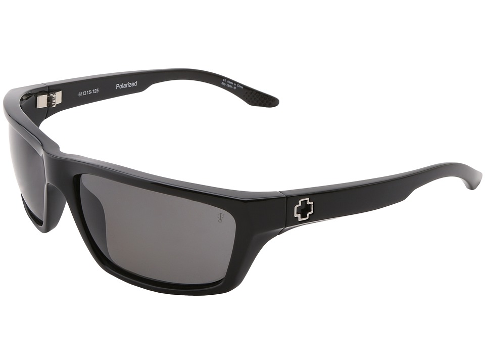 Spy Optic - Kash Polarized (Black/Grey Polarized Lens) Sport Sunglasses