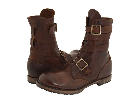 Walk-Over - Vintage Collection - Isaac Tanker Boot (Chocolate Harness) Men's Pull-on Boots