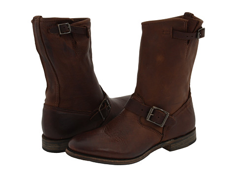 Walk-Over - Vintage Collection - Veronica Tapered Engineer (Chocolate) Women's Pull-on Boots