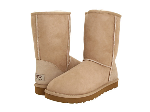UGG Classic Short (Sand) Men's Pull-on Boots