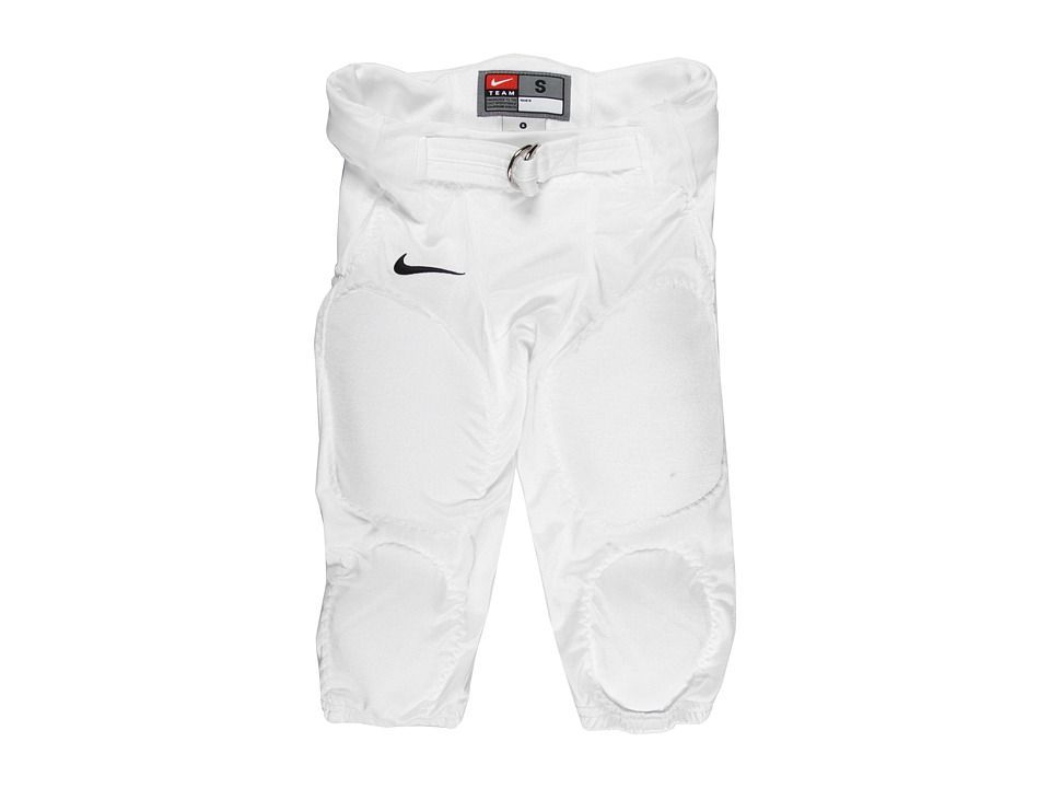 Nike Kids - Youth Recruit Football Pant (Little Kids/Big Kids) (Team White/Team Black) Boy's Clothing