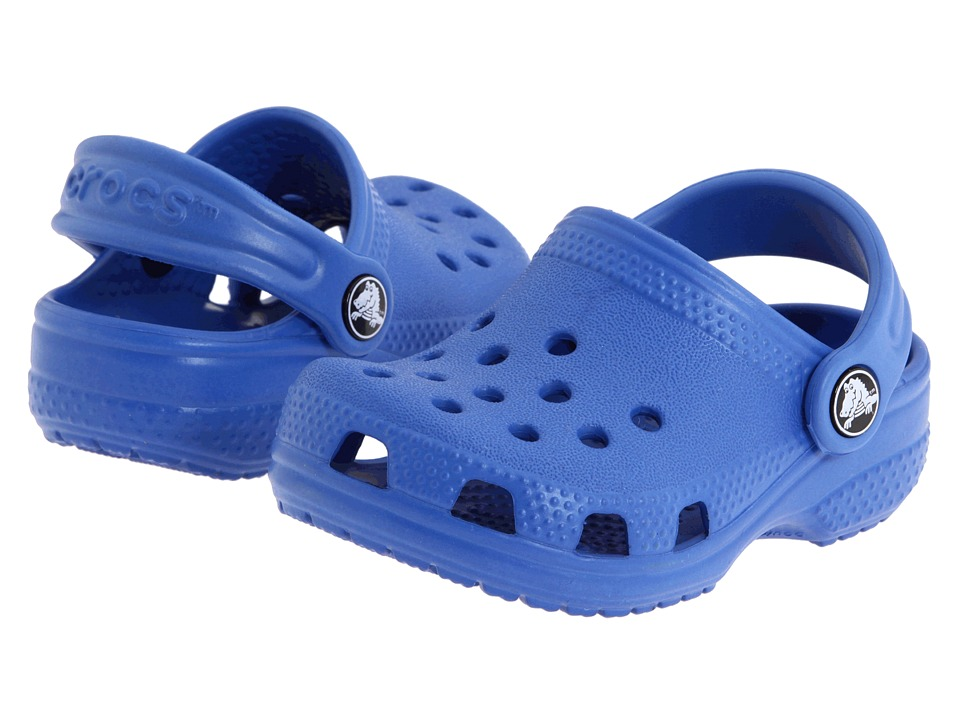 Crocs Kids - Crocs Littles (Infant) (Sea Blue) Kids Shoes