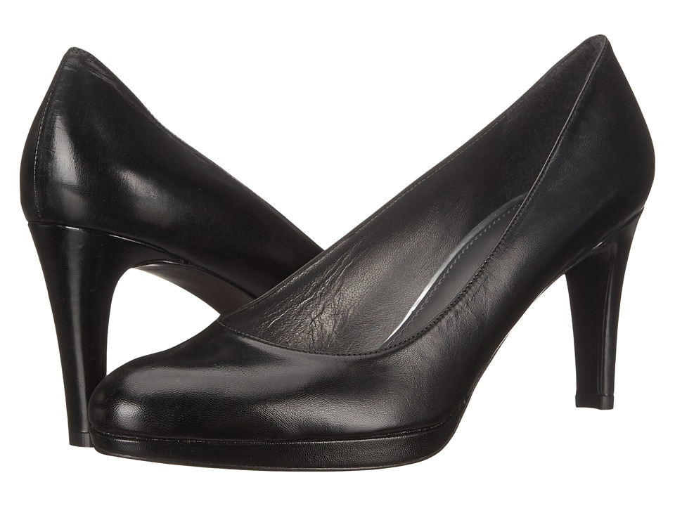 Stuart Weitzman - Blog (Black Kid) Women's Slip-on Dress Shoes