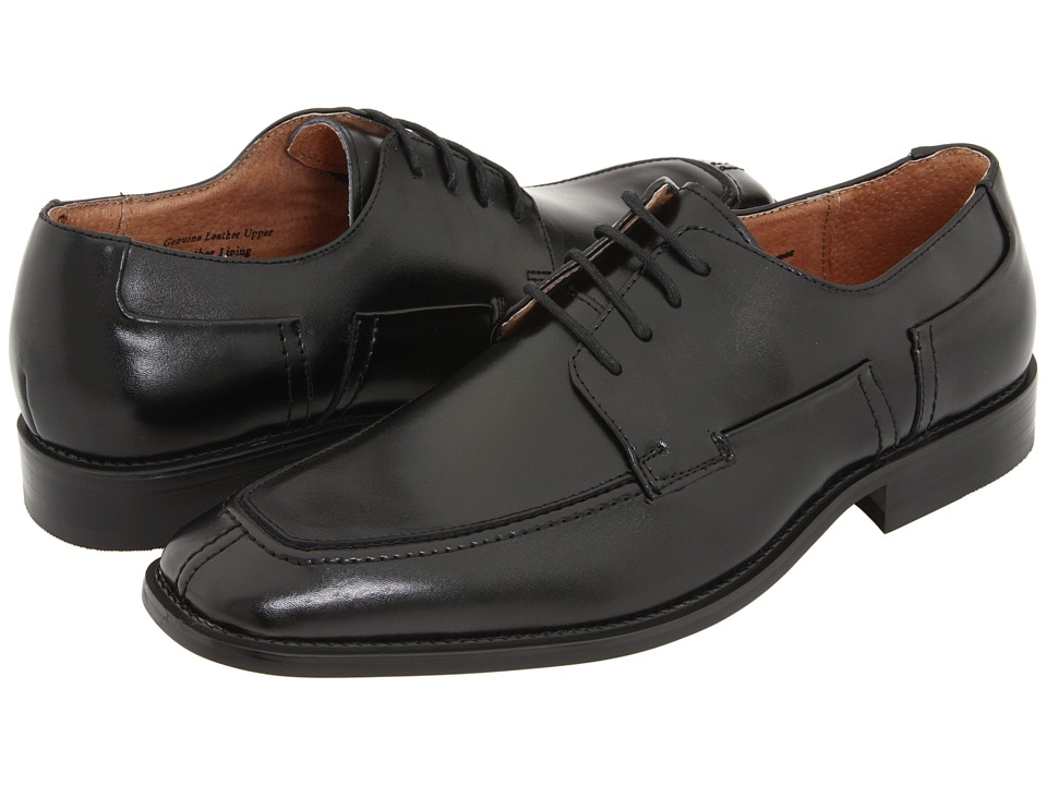 Fratelli - 2316 (Black Leather) Men's Dress Flat Shoes