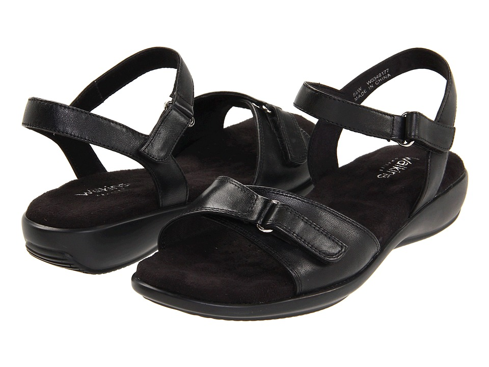 Walking Cradles - Sky II (Black) Women's Sandals