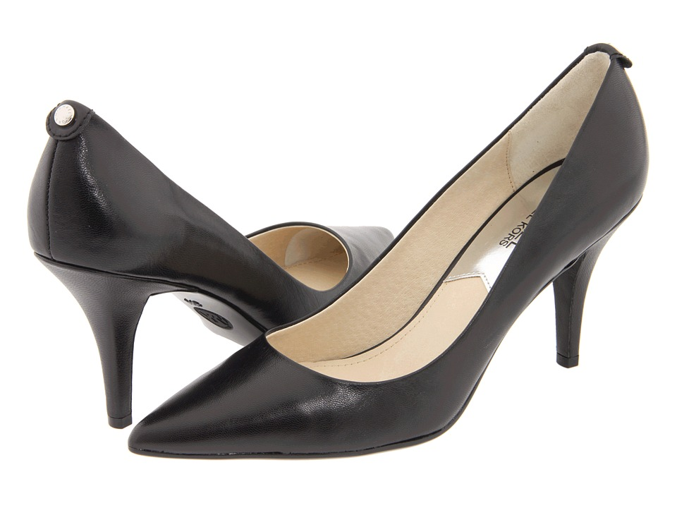 MICHAEL Michael Kors - MK Flex Mid Pump (Black) High Heels