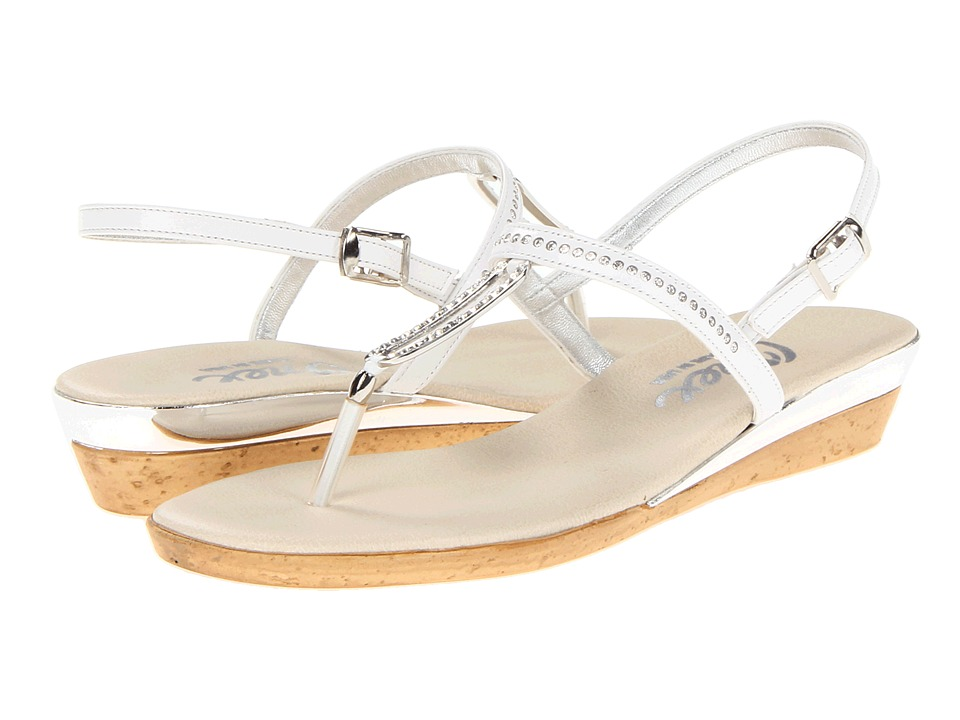 Onex - Cabo (White Leather) Women's Dress Sandals