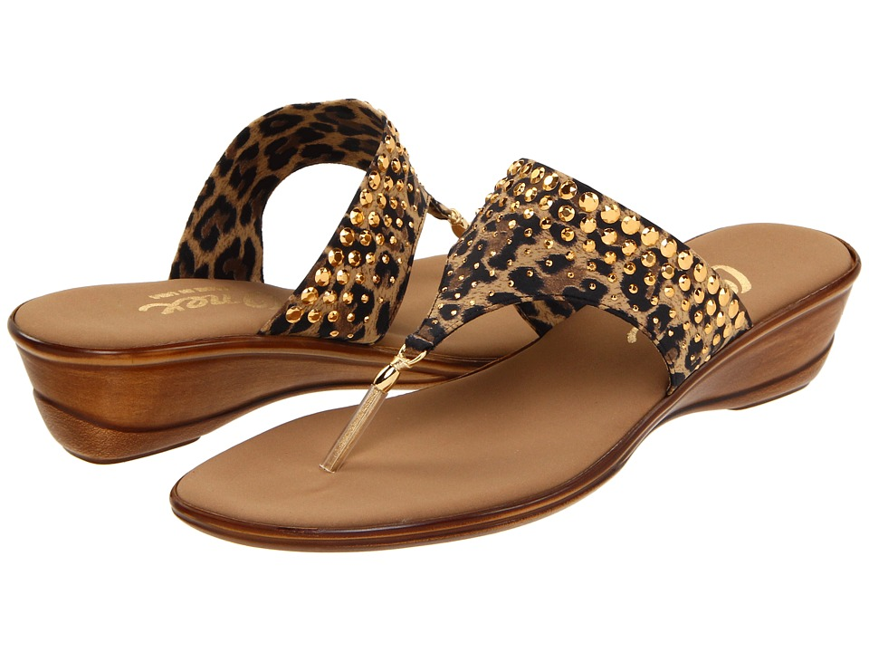 Onex - Burst (Brown Leopard) Women's Sandals