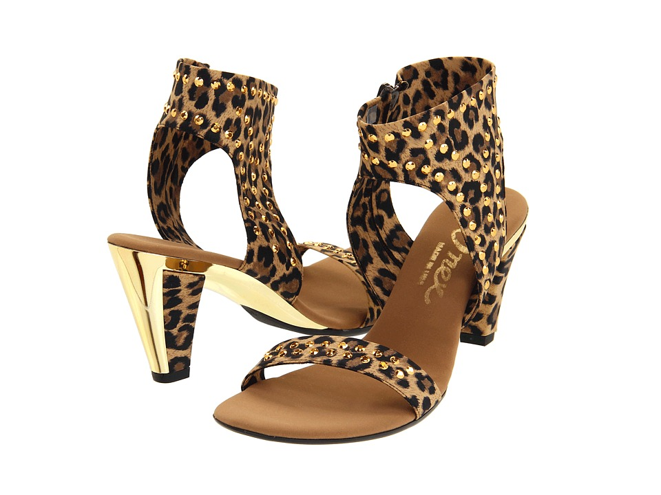 Onex - Showgirl (Brown Leopard) Women's Dress Sandals