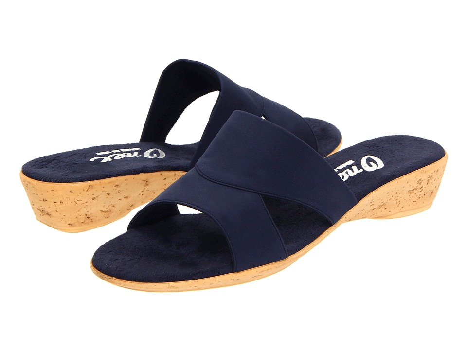 Onex - Gilda (Navy Elastic) Women's Sandals