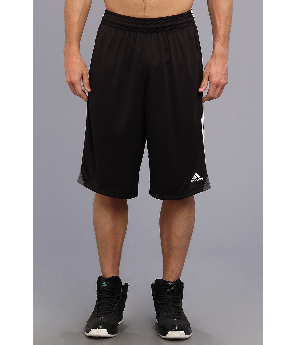 adidas - 3G Speed Short (Black/White/Lead) Men's Shorts