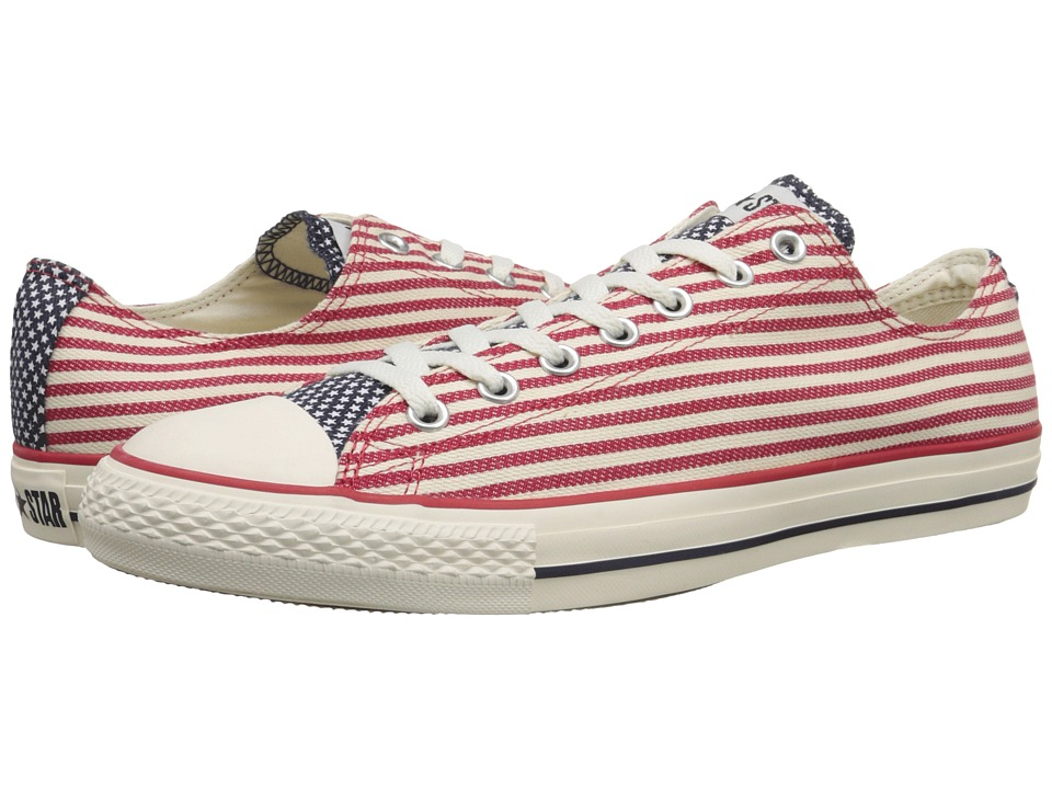 Converse - Chuck Taylor All Star Specialty Ox (Red/White Flag) Shoes