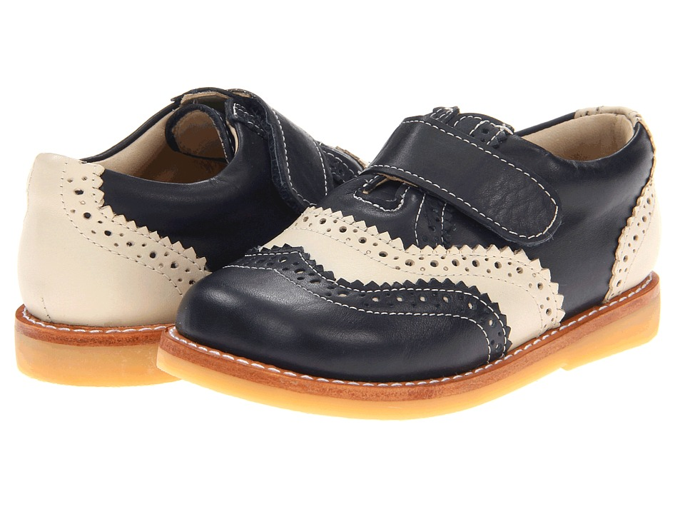 Elephantito - Jamie (Toddler) (Navy/Ecru) Boy's Shoes
