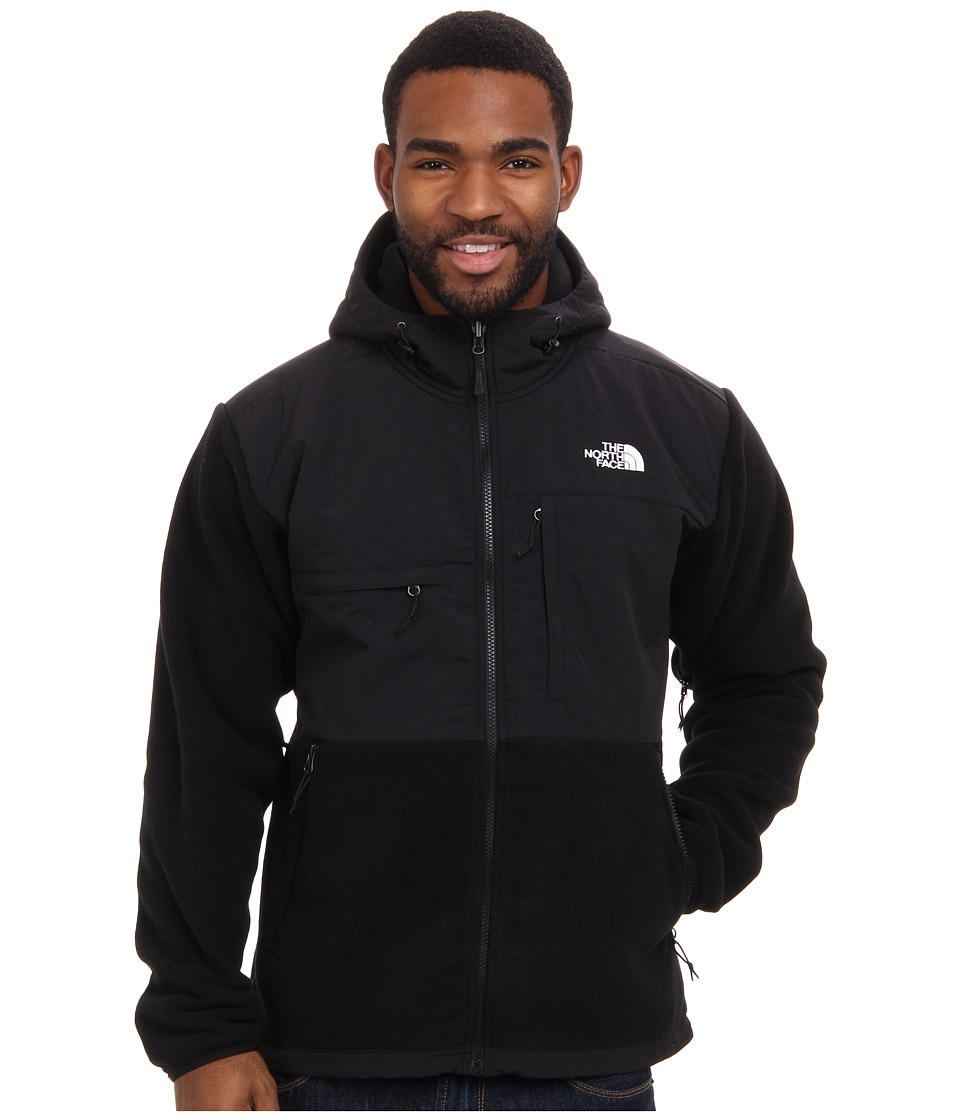 The North Face - Denali Hoodie (R TNF Black/TNF Black) Men's Coat