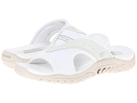 SKECHERS - Reggae - Sun Fest (White) Women's Sandals