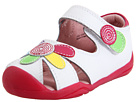 pediped Daisy Grip 'n' Go (Toddler) (White/Multi) Girl's Shoes