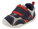 pediped Adrian Grip 'n' Go (Toddler) (Navy/Grey/Red)