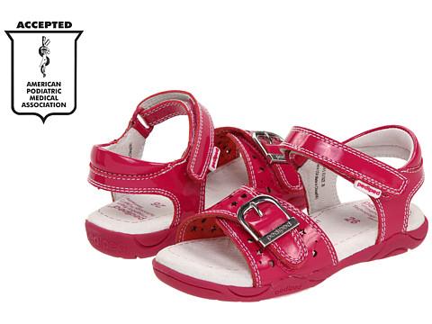 pediped - Maggie Flex (Toddler/Little Kid) (Fuchsia) Girl's Shoes