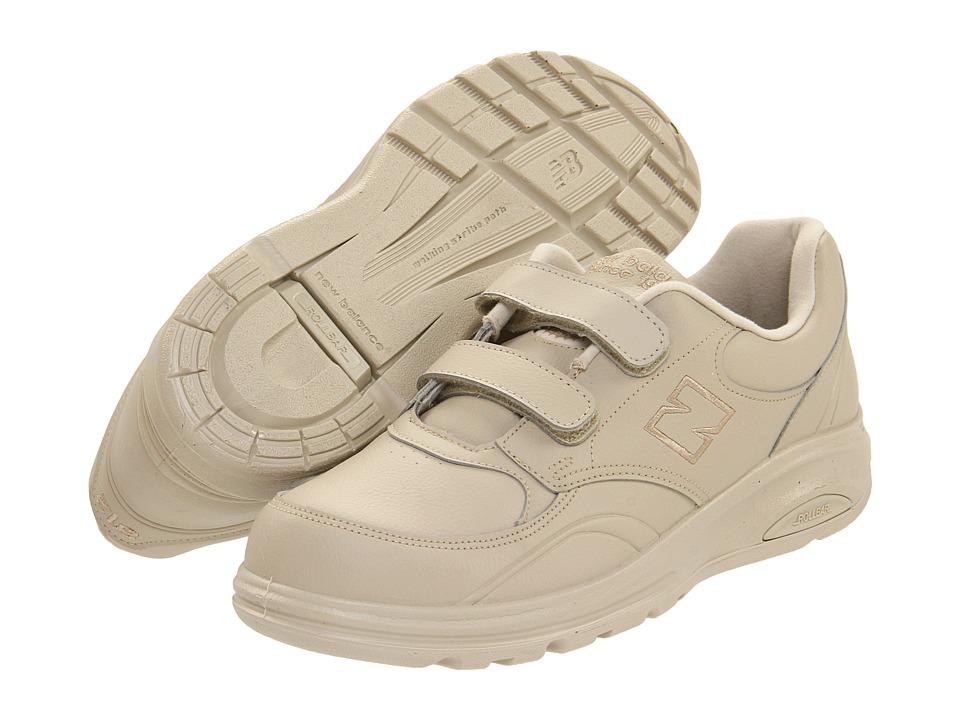 New Balance - MW812 Hook-and-Loop (Bone) Men's Walking Shoes