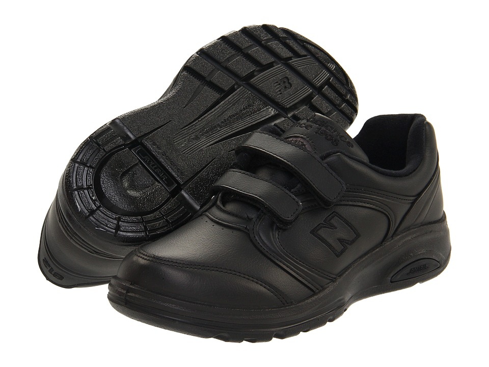 New Balance - WW812 Hook-and-Loop (Black) Women's Walking Shoes