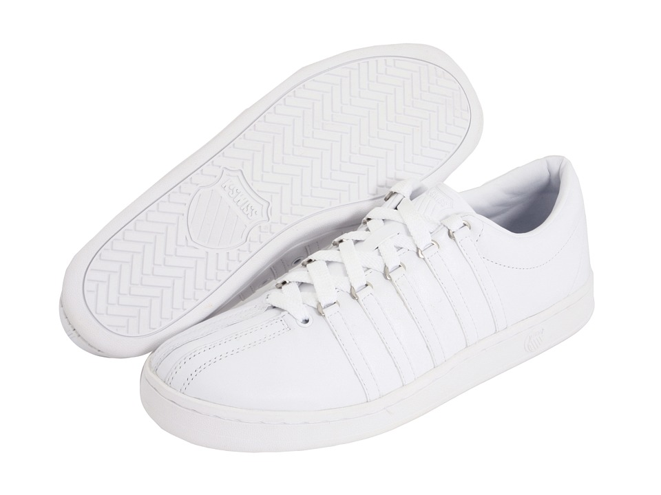 K-Swiss - The Classic (White/White) Men's Tennis Shoes