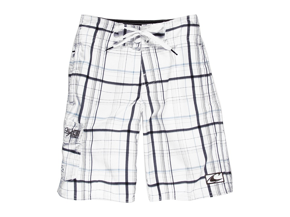 O'Neill Kids - Triumph Boardies (Big Kids) (White) Boy's Swimwear