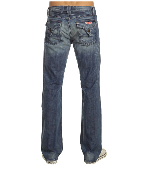 Hudson - Webber Flap Pocket Bootcut in Cuda (Cuda) Men's Jeans