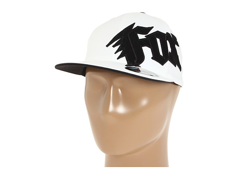 Fox - New Generation Flexfit Hat (White) Caps