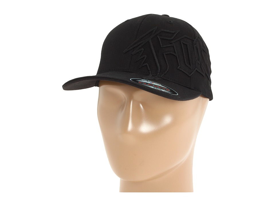 Fox - New Generation Flexfit Hat (Black) Caps