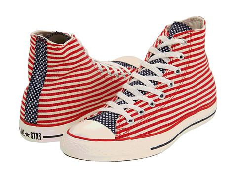converse hi stars and stripes chucks sneaker schuhe