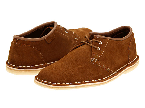 Clarks - Jink (Chestnut Suede) Men's Lace up casual Shoes
