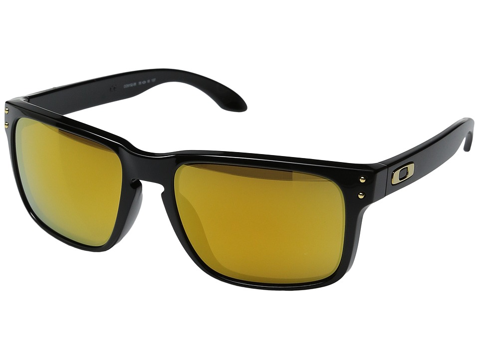 Oakley - Holbrook (Shaun White Gold Series Polished Black/24k Iridium Lens) Sport Sunglasses