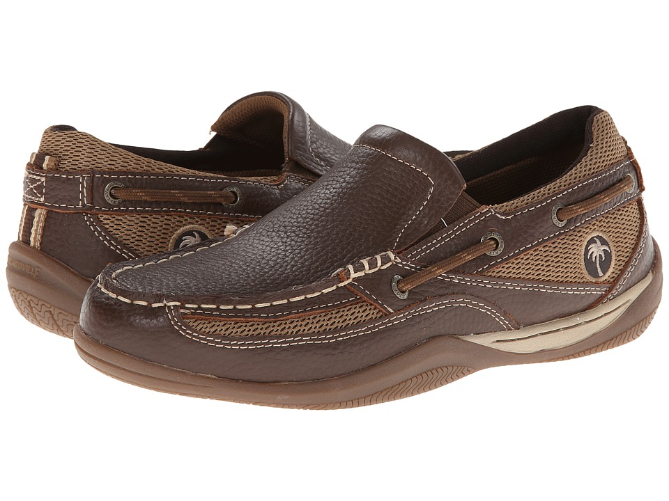 Margaritaville - Speed Boat Slip On (Dark Chocolate) Men's Slip on Shoes