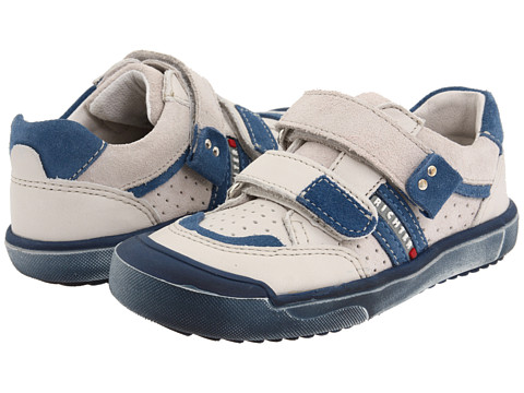 Richter - 52.1714 (Infant/Toddler) (White/Navy) Boy's Shoes
