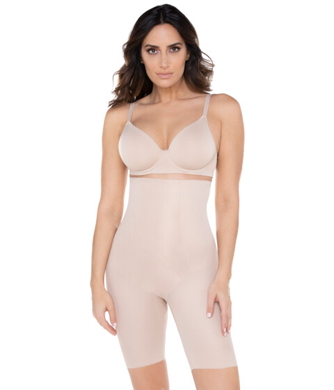 UPC 080225103229 product image for Miraclesuit Shapewear Shape with an Edge Hi-Waist Long Leg 2709 (Nude) Women's U | upcitemdb.com