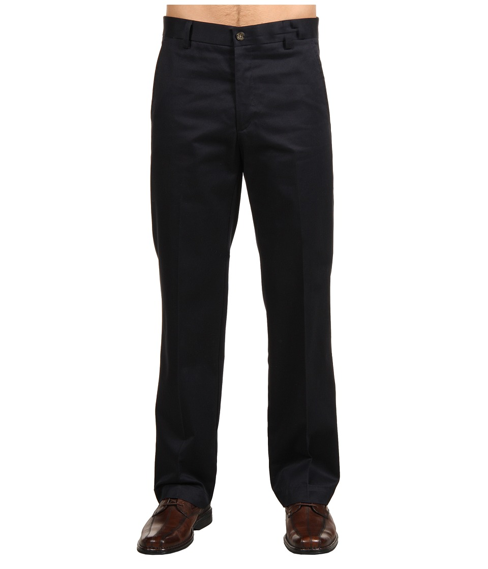Dockers Men's - Signature Khaki D1 Slim Fit Flat Front (Navy) Men's Dress Pants