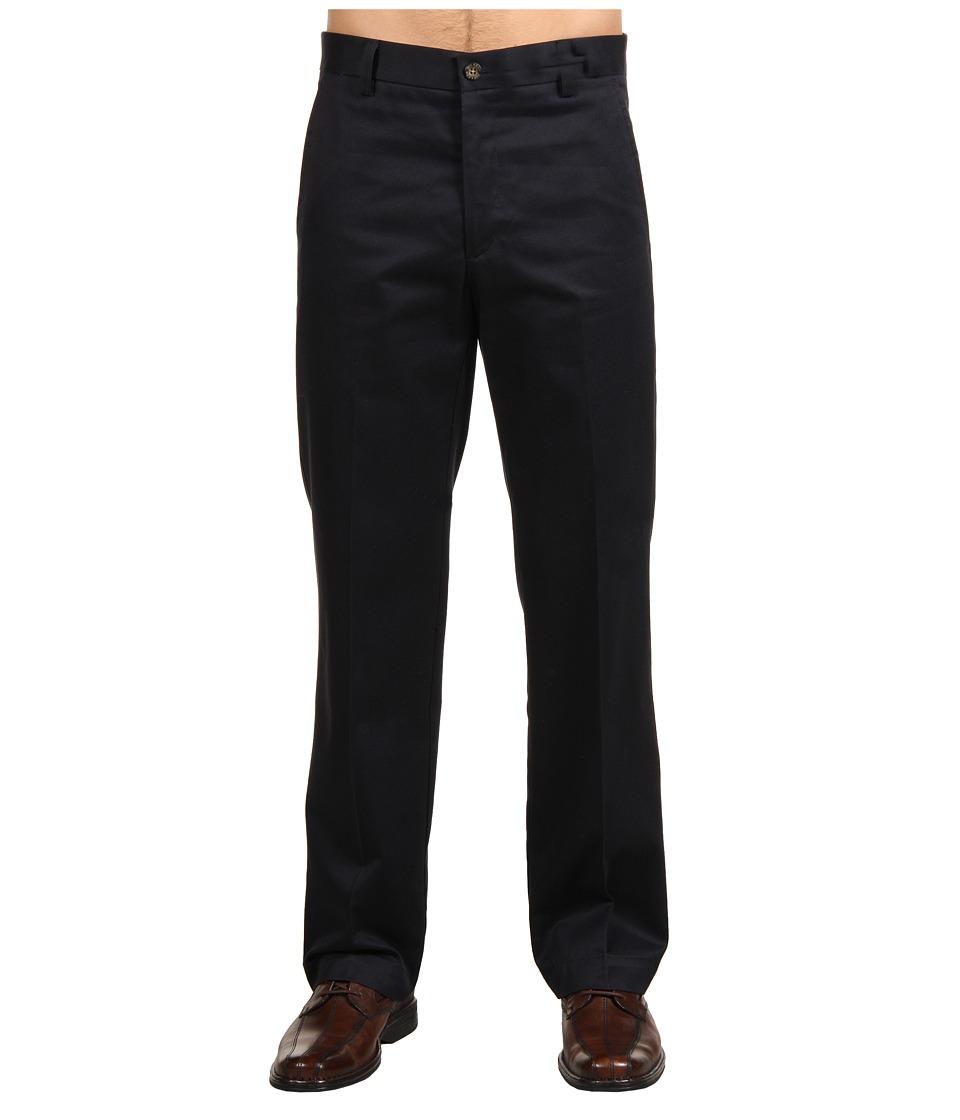 Dockers Men's - Signature Khaki D1 Slim Fit Flat Front (Navy Stretch) Men's Dress Pants