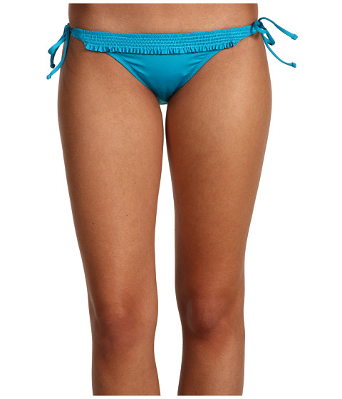 Volcom - Smock Puppet Tie Side Skimpy Bottom (Teal) Women's Swimwear