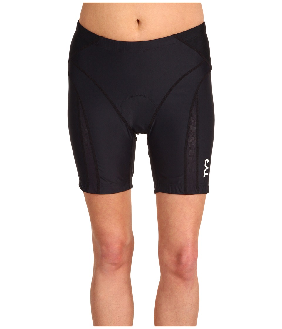 TYR - Competitor 6 Tri Short RCFS6 (Black) Women's Swimwear