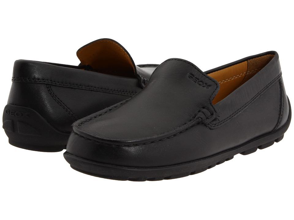 Geox Kids - Jr Fast (Little Kid) (Black) Boy's Shoes