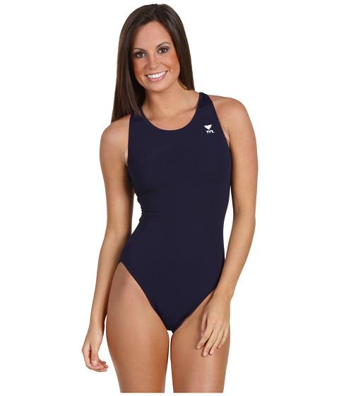 TYR - Durafast Solid Maxback (Navy) Women's Swimwear