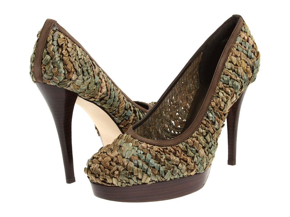 Stuart Weitzman - Raffiaswoon (Herbal Raffia) High Heels