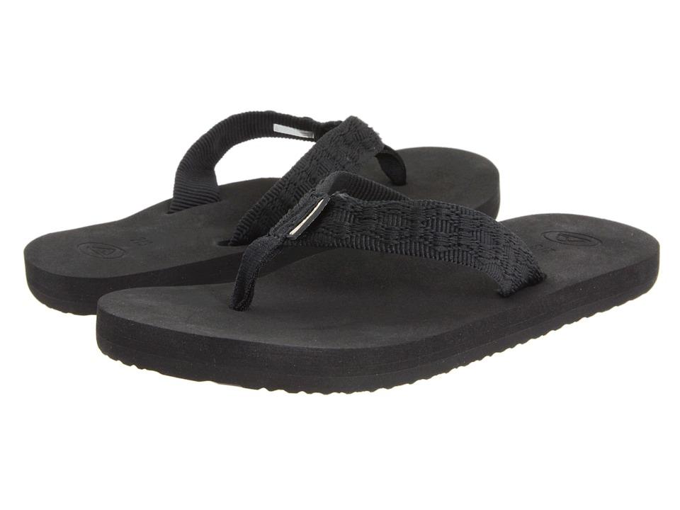 Reef Kids - Grom Smoothy (Infant/Toddler/Little Kid/Big Kid) (Black) Boys Shoes