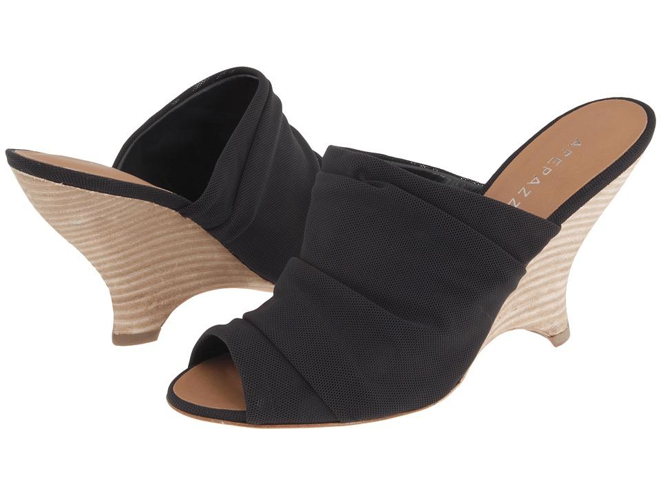 Apepazza - Formatera (Black) Women's Slide Shoes