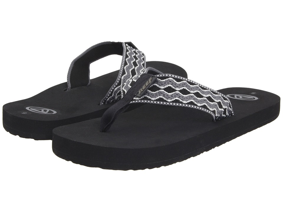 Reef - Smoothy (Grey Black 2) Men's Sandals