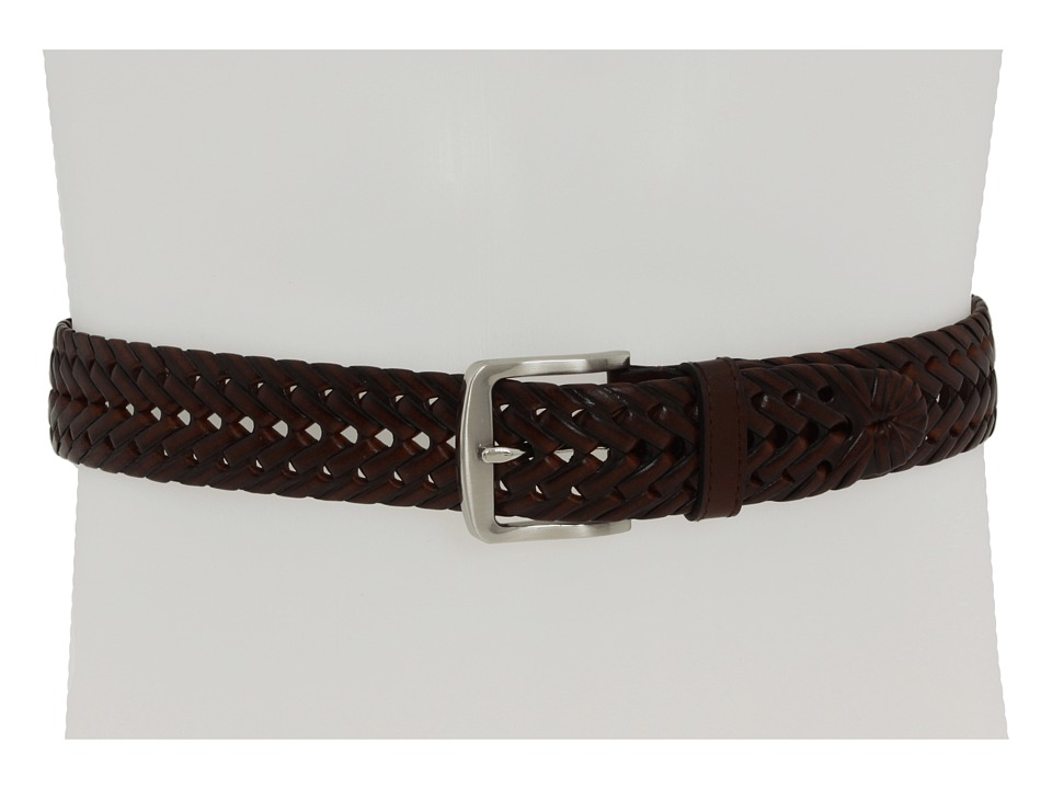 M&F Western - Double Barrel Braided (Brown) Men's Belts